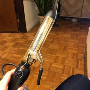"""Pro Beauty Tools Gold Curling Iron 1-1/4"""""""